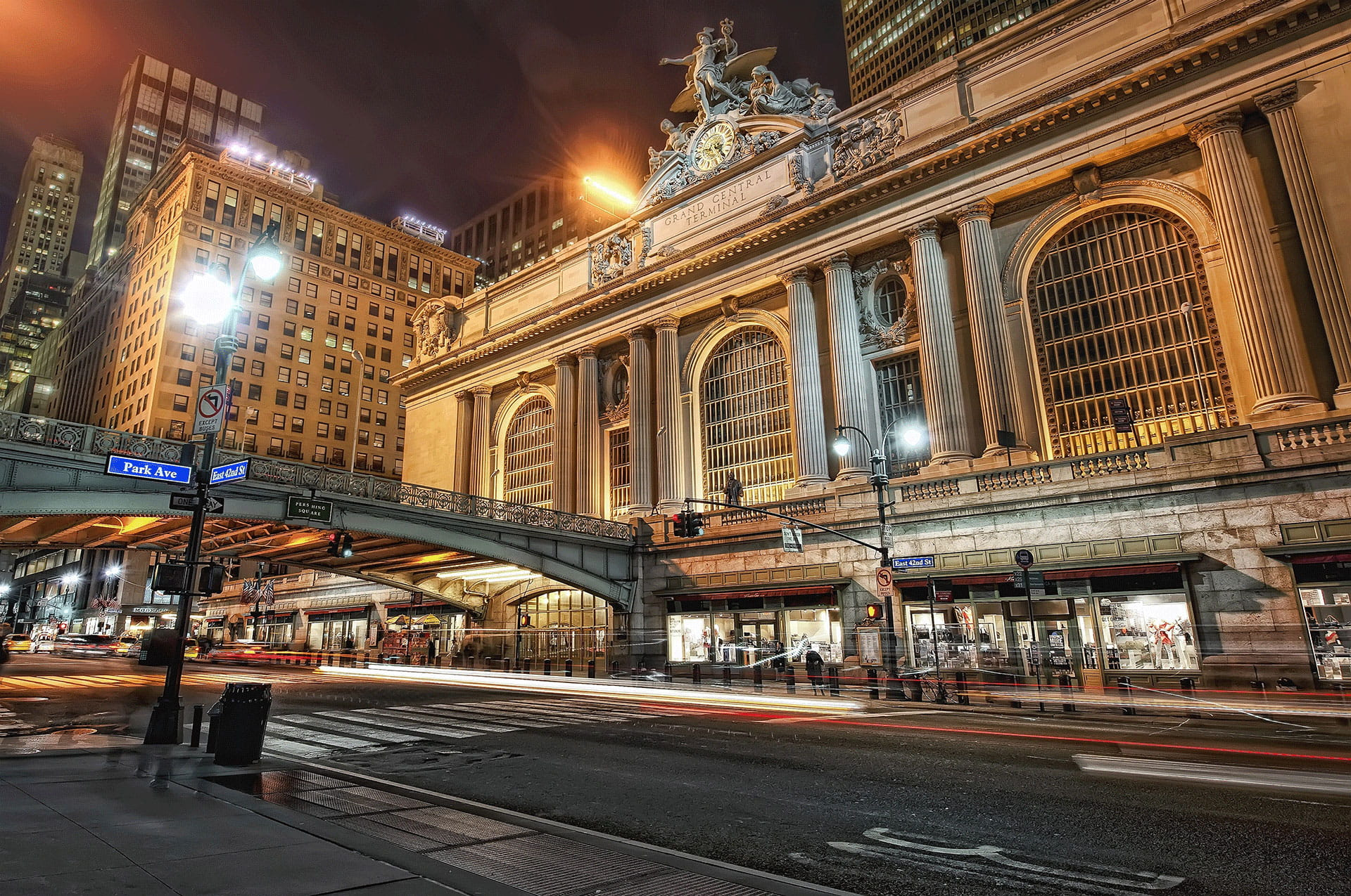 Grand Central Terminal, New York at Night